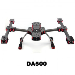 DA500 Little Inspire Kolfiber Alien Multirotor 500mm FPV Frame Kit