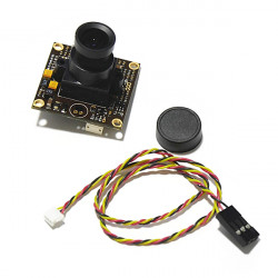 DC12V 1/3 960H CCD 700TVL 2.8mm Objektiv Weitwinkelkamera für FPV QAV250