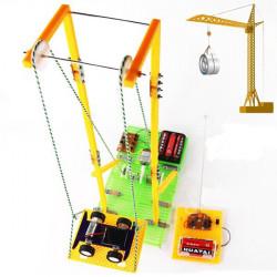 DIY Assembly Educational s Model RC Elektrisk Elevator
