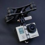 DJI Phantom Kolfiber Vibrations 4-Axis FPV Gimbal för Gopro 3 Radiostyrt