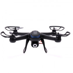 DM007 2.4G 4CH 6 Axis RC Quadcopter med 2 MP Kamera RTF