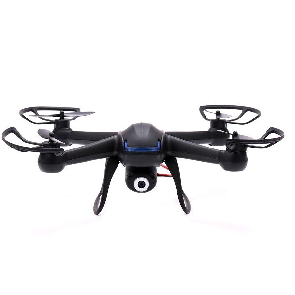 DM007 2.4G 4CH 6 Axis RC Quadcopter med 2 MP Kamera RTF Radiostyrt