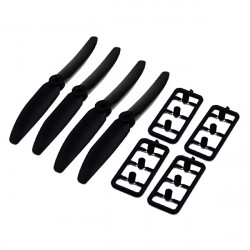 DYS 6045 Blade Propeller Pro CW/CCW Plastic 2 Pairs