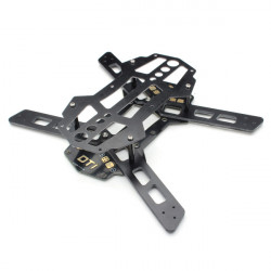 Diatone Rotor 150 Glasfiber Kretskort Frame Kit W / LED Dekoration Board