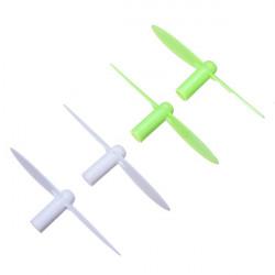 EACHINE H1 Wltoys V272 Estes Proto-X Propeller Rotor Grönt & White