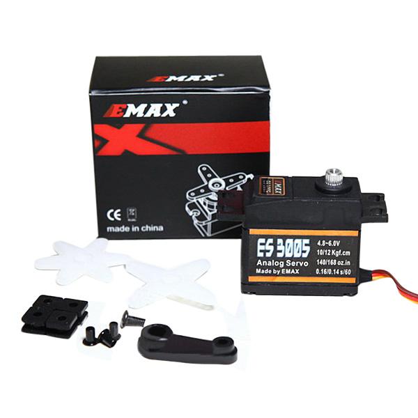 EMAX ES3005 42g Metall Analog Servo för RC Flygplan Vattentät
