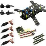 EMAX Nighthawk 250 Carbon Fiber Frame Combo CC3D MT2204 Motor 12A ESC RC Toys & Hobbies