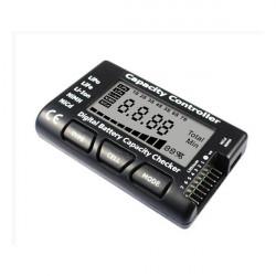 EV-PEAK Batterikapacitet Checker LiPo LiFe Li-ion NiMH NiCd