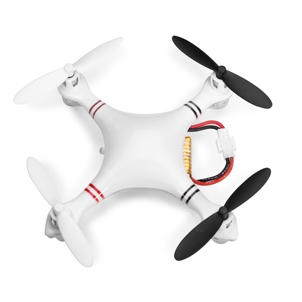 Eachine CG022 Mini 2.4G 6 Axis LED Headless Mode RC Quadrokopter Droner RTF Fjernstyret