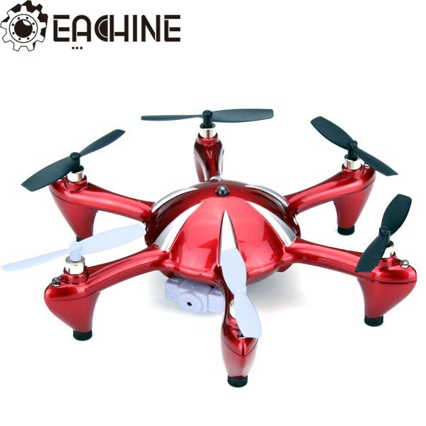 Eachine X6 2.4G 4CH 6 Axis RC Hexacopter med 2 MP Kamera RTF Radiostyrt