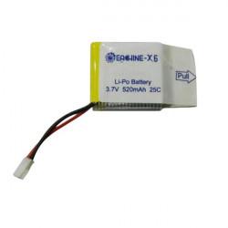 Eachine X6 RC Hexacopter Reservdelar 3.7V 25C 520mAh Batteri