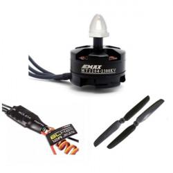 Emax MT2204 2300KV Motor 6030 Propeller Esc 12A Set för Quadcopter QAV250
