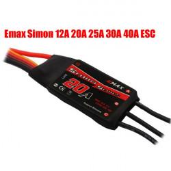 Emax Simonk Series 12A 20A 25A 30A 40A ESC For Quadcopter QAV250