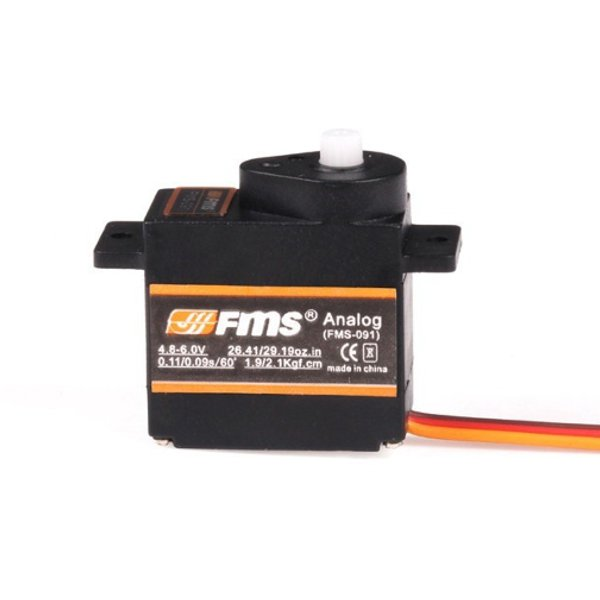 FMS FMS-091 Analog 9g Servo Compatible With Futaba JR Sanwa Hitec RC Toys & Hobbies