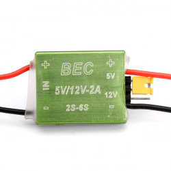 FPV 1.2G 5.8G BEC 12V 5V Fri Switch CNC Shell