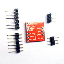 FPV Multi-camera Mini Two-way Electronic Switch Video Switcher Module
