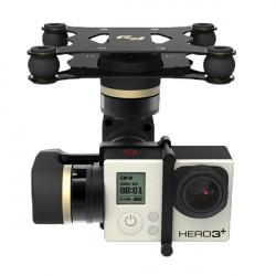 FY MiNi3D 3-Axis Borstlös Gimbal för Gopro4 Gopro3 + Gopro3 Sport Kamera