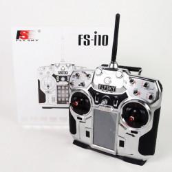 Flysky FS i10 10CH 2,4 GHz AFHDS 2 LCD Sender mit Empfänger