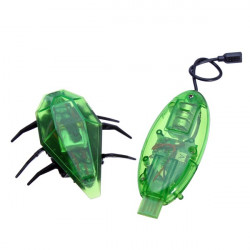 Roliga Smart 3CH Ljus RC Elektrisk Beetle