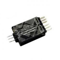 G.T.Power FPV 3 Channels Video Switcher FV3IN1