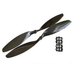 Gemfan 12x3.8 Inch 1238 Bilbon Fiber Propeller APC för DJI Multicopter