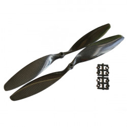 "Gemfan 12x3.8"" 1238 Carbon Propeller APC Für DJI Multicopter"