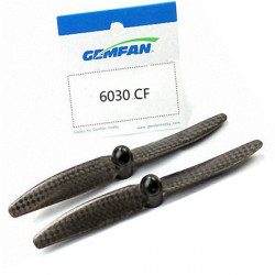 Gemfan 6x3 6030 Kolfiber Multirotor Självlåsande Propellrar CW / CCW