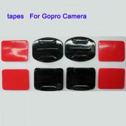 GoPro Hero 2 Hero3 HD2 Kamera Plana och Arc Delar med Tapes