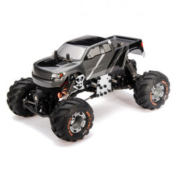 HBX 2098B 1/24 4WD Mini RC Fjernstyret Climber / Crawler Metal Chassis