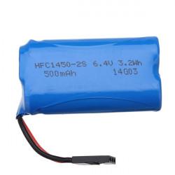 HBX 2098B 1/24 4WD RC Bil Li-ion Batteri 6.4V 500mAh