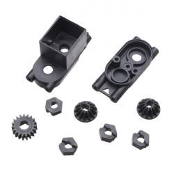 HBX 2098B Forside / Rear Pinion Gears Motor Pinion Gear Centre Gearkasse