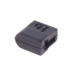 HJ Model Accessories T Plug Sheathed Black T Cap 10 Pieces