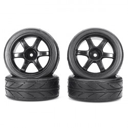 HOBBY MASTER 1/10 Tires For RC Car HC12059