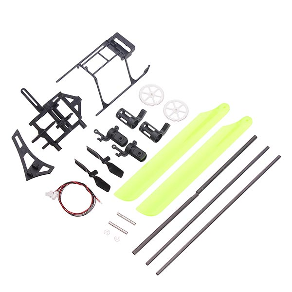 Hisky HFP100 Crash Kit Set RC Helikopter Reservedele 800365 Fjernstyret