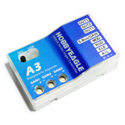 Hobby Eagle A3 3 Axis Gyro Airplane Flight Controller Stabilizer
