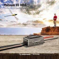Hobbywing Platin HV160A V4 Brushless Regler Elektronische Drehzahlregler