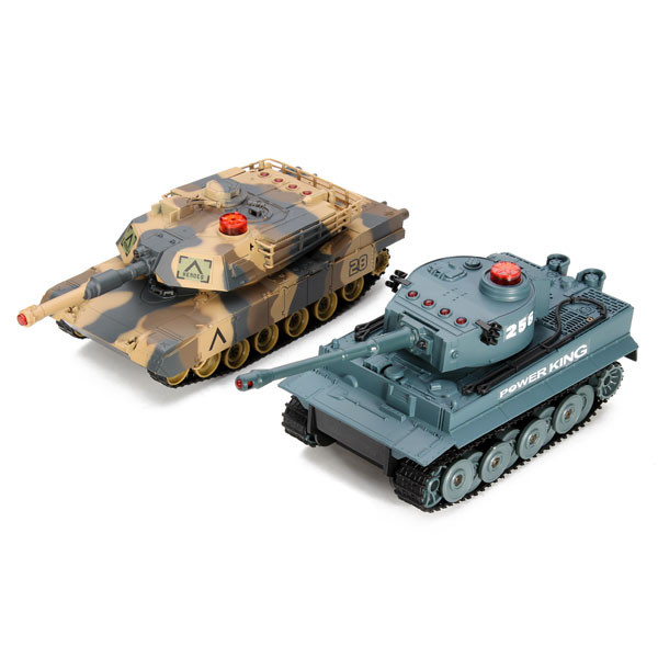 Huanqi Elektrische Infrarot RC Kampfpanzer 2Stk Set RC Spiele & Hobbies