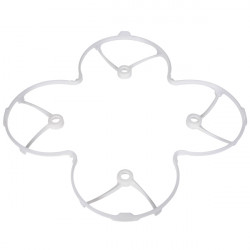 Hubsan X4 H107C RC Quadcopter Parts Protection Cover White H107C-a19