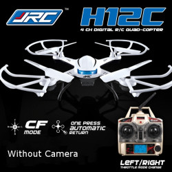 JJRC H12C Headless Mode One Key Return RC Quadcopter Without Camera