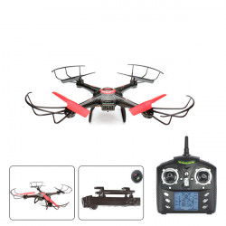 JJRC V686J 2.4G 4CH 6Axis RC Quadcopter med 720p 2,0 MP HD-kamera RTF