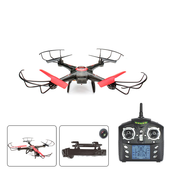 JJRC V686J 2.4G 4CH 6Axis RC Quadcopter med 720p 2,0 MP HD-kamera RTF Radiostyrt