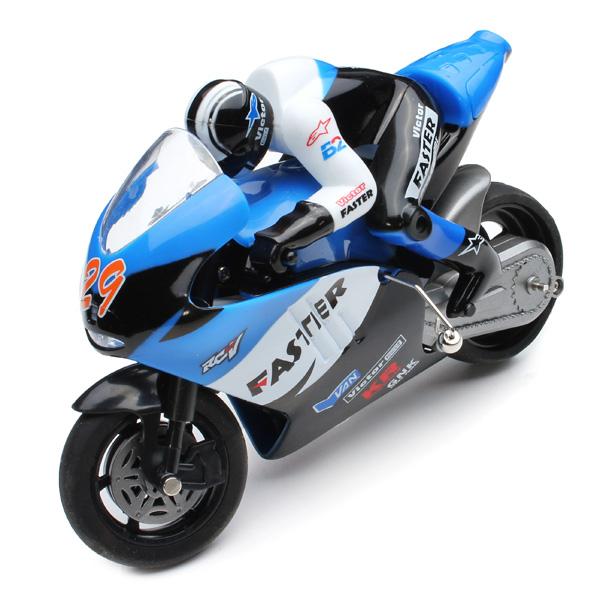 Jinxinda 1/16 Mini Motorcycle 2.4GHz Drift Motor RTR RC Toys & Hobbies