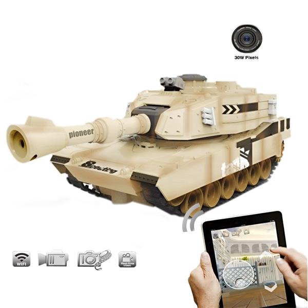 Jinxingda JXD JD805 WIFI RC Fjernstyret Tank med Kamera Real-time Video Fjernstyret