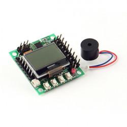 KK2.15 Miniversion Flight Controller Atmega644 PA för RC Multirotors