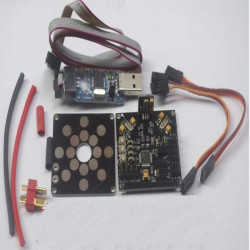KK V5.5 Flight Controller Board V2.9 With Loader USB And ESC Plate