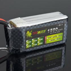 Lion Ström 11.1V 1500mAh 40C LiPo Batteri BT695