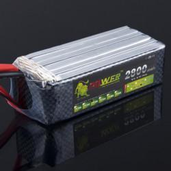 Lion Ström 22.2V 2800mAh 30C LiPo Batteri T Plug BG704