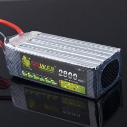 Lion Ström 22.2V 2800mAh 35C LiPo Batteri T Plug BG714