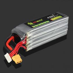 Lion Power 22.2V 4200MAH 30C MAX 45C Lipo Batteri XT60 Plug