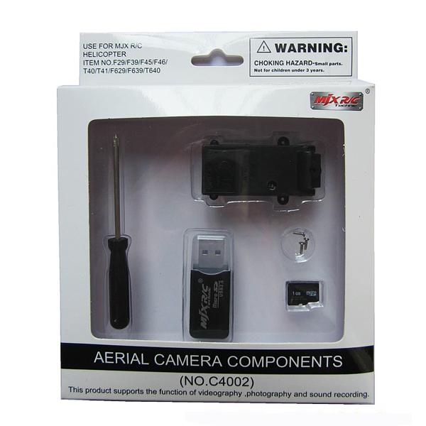 MJX RC Hubschrauber Luftkamera Komponenten Set C4002 RC Spiele & Hobbies